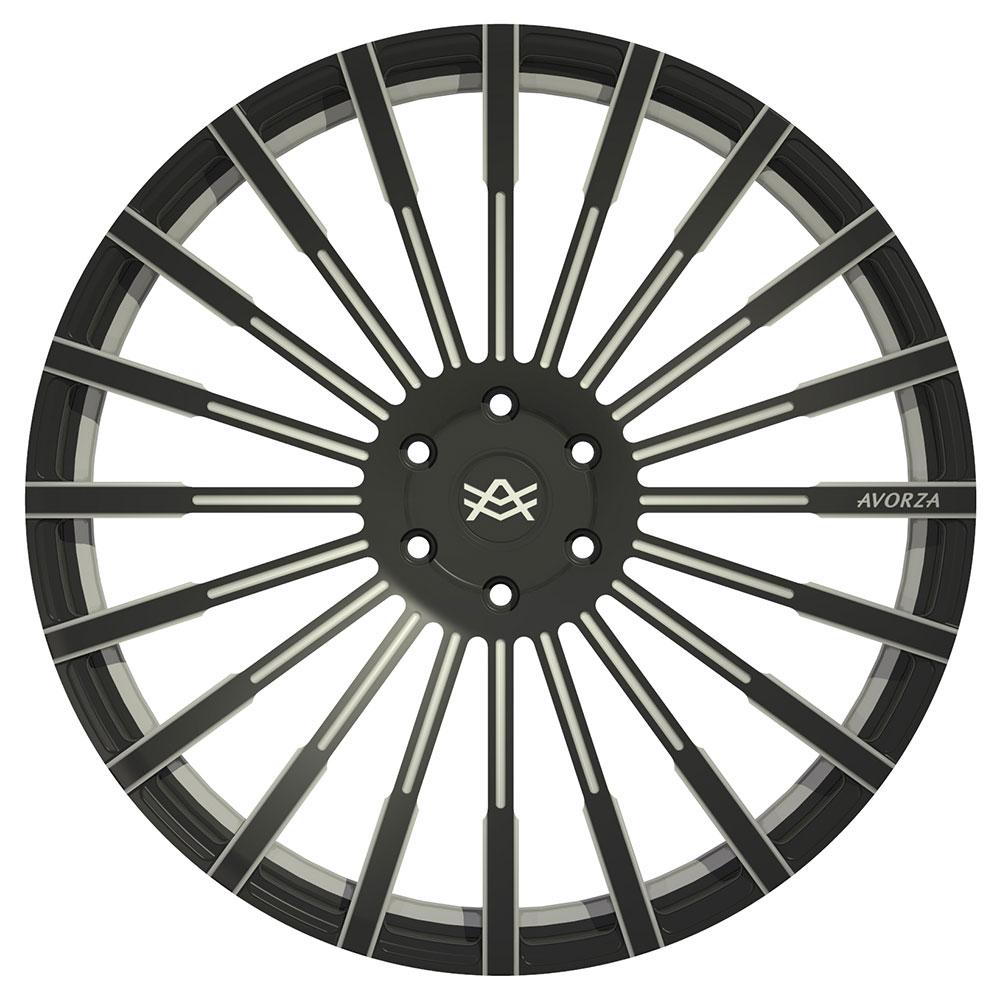 Avorza AV19 Monoblock Forged-Wheels by Alex Vega
