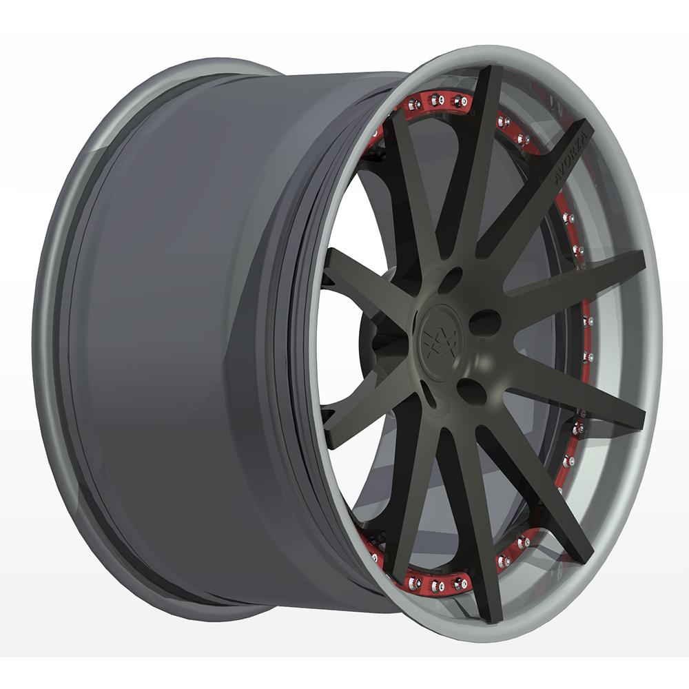 Avorza-Multi-Piece-Forged-Wheels-AV21-3pc-StepLip-BlackSilverRed