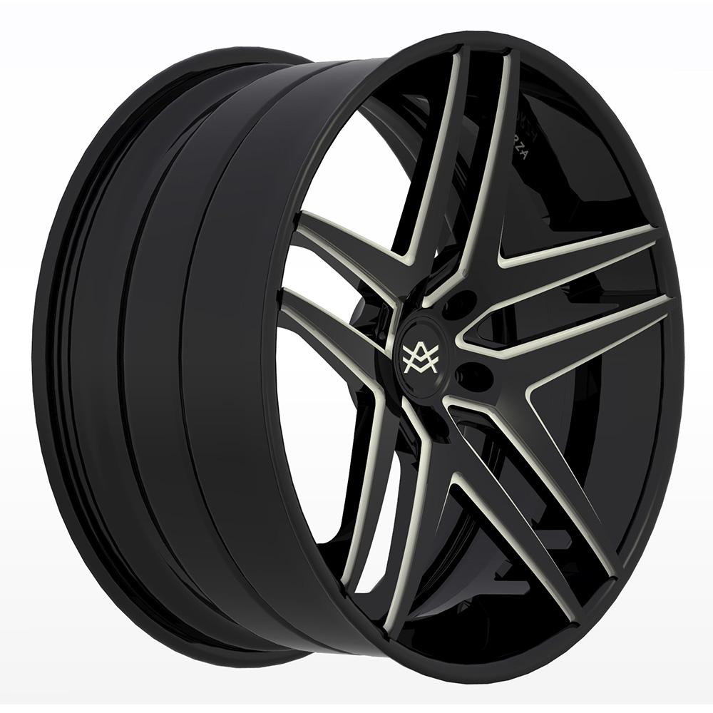 Avorza-Multi-Piece-Forged-Wheels-AV35-3pc-ECL-BlackWhite