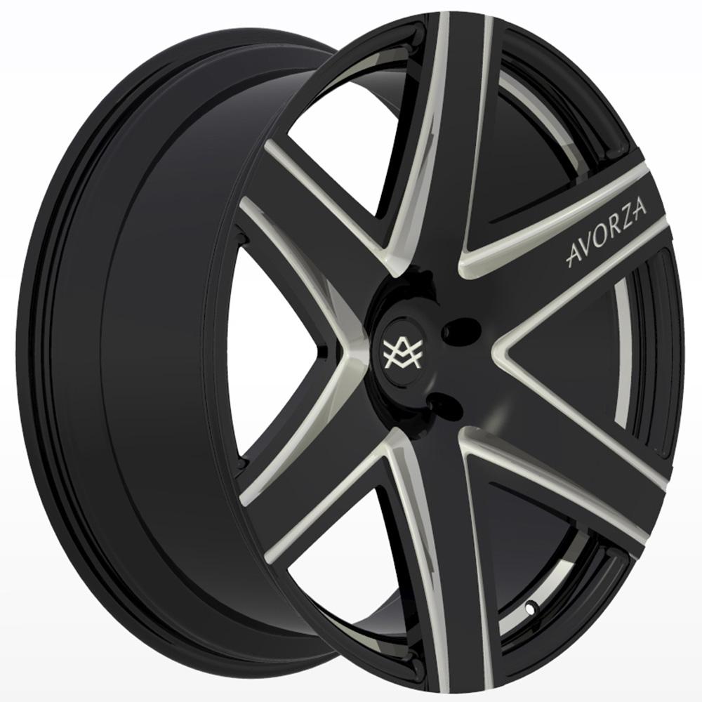 Avorza-Monoblock-Forged-Wheels-AV1-24x10-BlackWhiteDetails