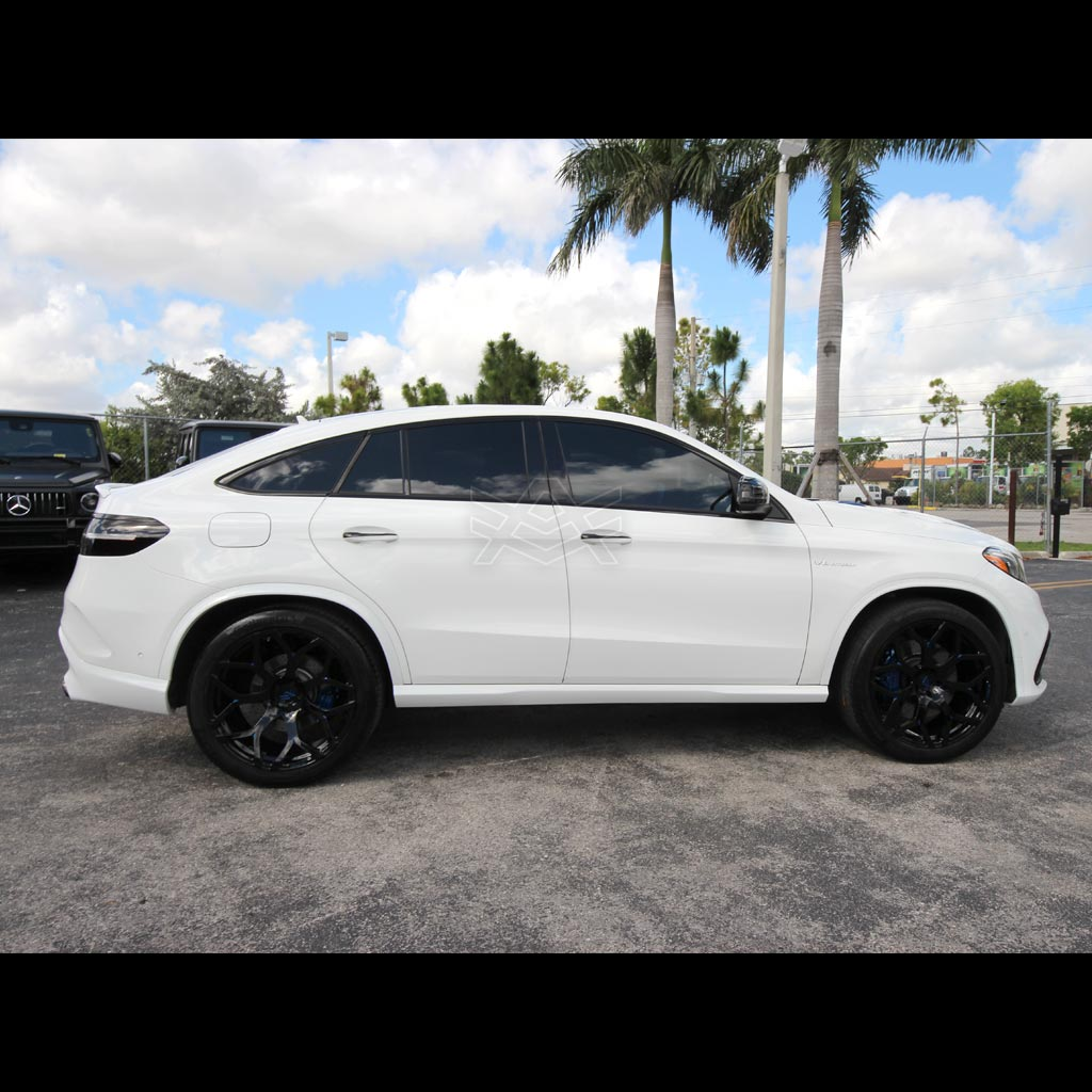 Mercedes Benz Gle Coupe White Avorza Av53 Alex Vega Auto Firm 3 Avorza